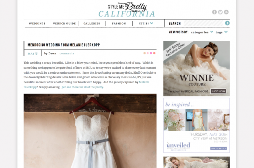 Melanie Duerkopp Photography, Style Me Pretty Feature, SMP, Styly Me Pretty, Wedding Featured,